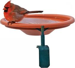 Deck Mount Bird Bath 1 Quart Cap Red