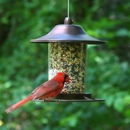 Decorative Bird Feeder Hanging Station Outdoor Small Wild Pe