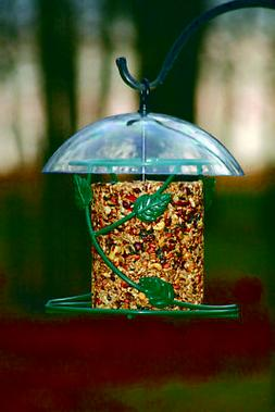 Birds Choice Decorative Ivy Hanging Seed Cylinder Bird Feede