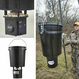 Digital Hanging Bucket Feeder 5-Gallon Timer Tripod Deer Gam
