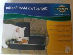 PETSAFE DIGITAL TWO MEAL FEEDER NEW