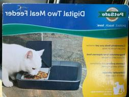 PetSafe Digital Two Meal Feeder-NIB-L413-1139-Cats/Dogs/Pets