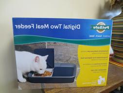 PetSafe Digital Two Meal Feeder - NIB - L413-1139 - Cats/Dog