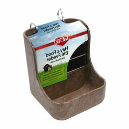 Hay and Food Bin Feeder Dispenser Quick Locks Pet Rabbit Gui