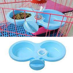Delight eShop New Dog Cat Cute hanging pet bowl Puppy Automa