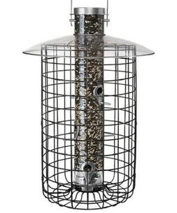 DOMED CAGE AND SQUIRREL PROOF BIRD FEEDER by DROLL YANKEES