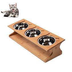 Petacc Durable Pet Bowl Stainless Steel Cat Dish Eco-friendl