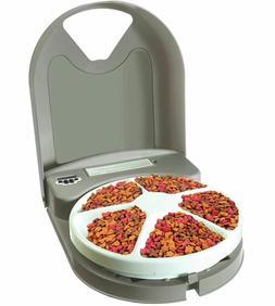 PetSafe Eatwell 5 Meal Automatic Pet Feeder Dog/Cat 5 165g T