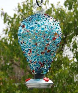 Parasol EIGHTY DAYS ~ Blown Glass Hummingbird Feeder - Sprin