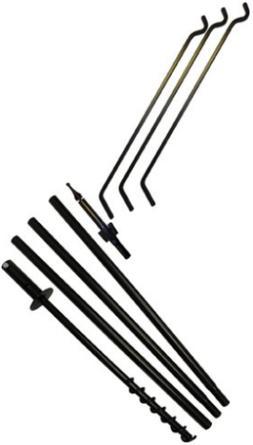 """Erva Tool Heavy Duty 80"""" 3 Arm Bird Feeder Pole Set w/Twist"""