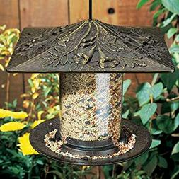 WHITEHALL Family Bird Feeder 6 inch Oakleaf Tube feeder oil