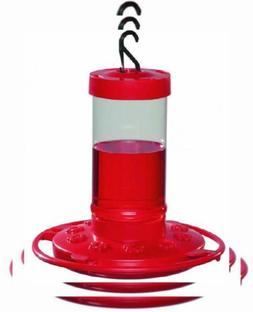 First Nature 993051-546 16 oz. Hummingbird Feeder, Red, Red