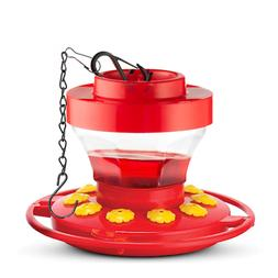 First Nature FN3091 16 oz Hummingbird Flower Feeder