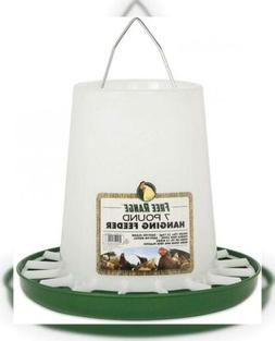 Harris Farms Free Range Hanging Poultry Feeder, Plastic 7 Po