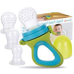 Fresh Food & Fruit Feeding Pacifier – 3 Different Sized Si