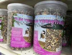 Fruit Berry Nut Seed Log Bird Food - Size: 32 Oz.