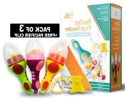 Baby Fruit Feeder Pacifier    baby Food feeder   fresh fruit