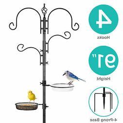 BCP 91-Inch Deluxe Bird Feeding Station, Multi-Feeder Kit w/