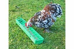 Gaun plastic pigoen, poultry, bird, chick trough feeder from