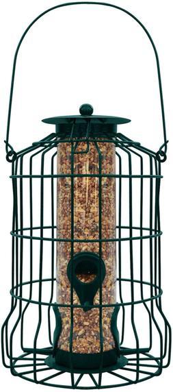 Gray Bunny GB-6860 Caged Tube Feeder, Squirrel Proof Wild Bi