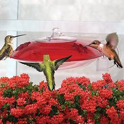 GC Droll Yankee Window Hummer 3 Hummingbird Feeder 2 Ports