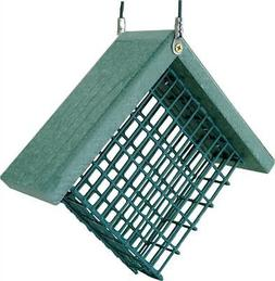 Go Green Suet Bird Feeder, 7 x 3 x 6