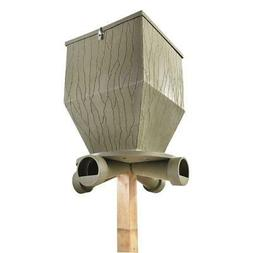 Gravity Feeder Deer Outdoors Feed Bank 300 lb Hunter Game Fo