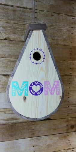 Hand Crafted Birdhouse and Feeders