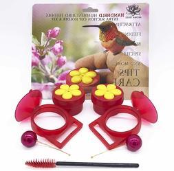 Handheld Hummingbird Feeders Perch Plastic Humming Birds Acc