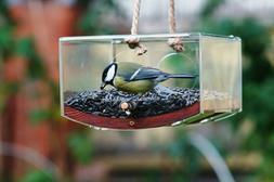 Hanging bird feeders for the outdoors Modern wild bird feede