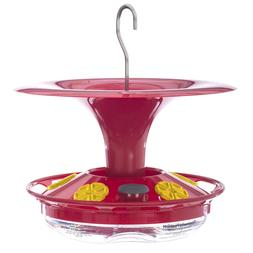 Roamwild Hanging Hummingbird Feeder with Double Moat Guard W