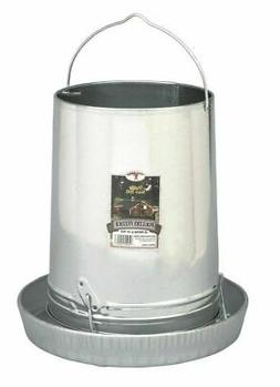 Hanging Poultry & Gamebird Feeder with Feed Pan, 30 Lb Galva