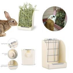 Hay & Food Bin Feeder Dispenser Quick Locks Pet Rabbit Kayte