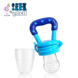 Hi! Baby 1 Smart Feeder Blue Silicone Baby Feeder Pacifier f