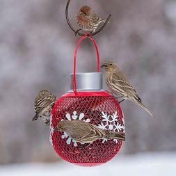 Holiday Solar Seedball Decorative Wild Bird Feeder - Great G