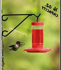 FIRST NATURE HUMMINGBIRD FEEDER  16 OZ #3051 EASY CLEAN WITH