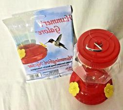 hummingbird feeder plastic hanging 6 75 inches