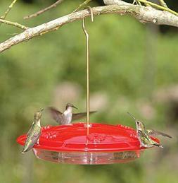 beige Audiosource Aspects ASP143 HummZinger Excel 16 oz Hanging Hummingbird Feeder