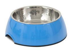 Petmate 14.5 oz Italia Bowl, Medium, Blue
