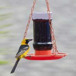 Perky Pet Jelly Jar Wild Bird Oriole Hummingbird Feeder For