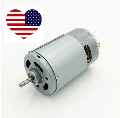 1 8 shaft 6 volt hunting motor