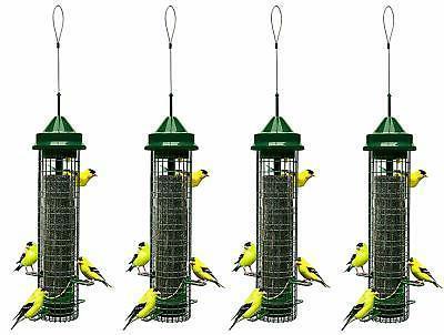 """Squirrel Buster Finch 5.3""""x5.3""""x32""""  Wild Bird Feeder with 4"""