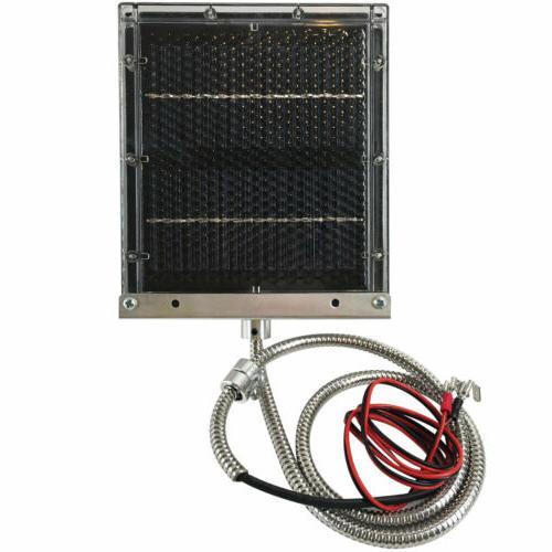 12 volt solar panel to recharge deer