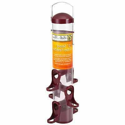 15 seed tube bird feeder