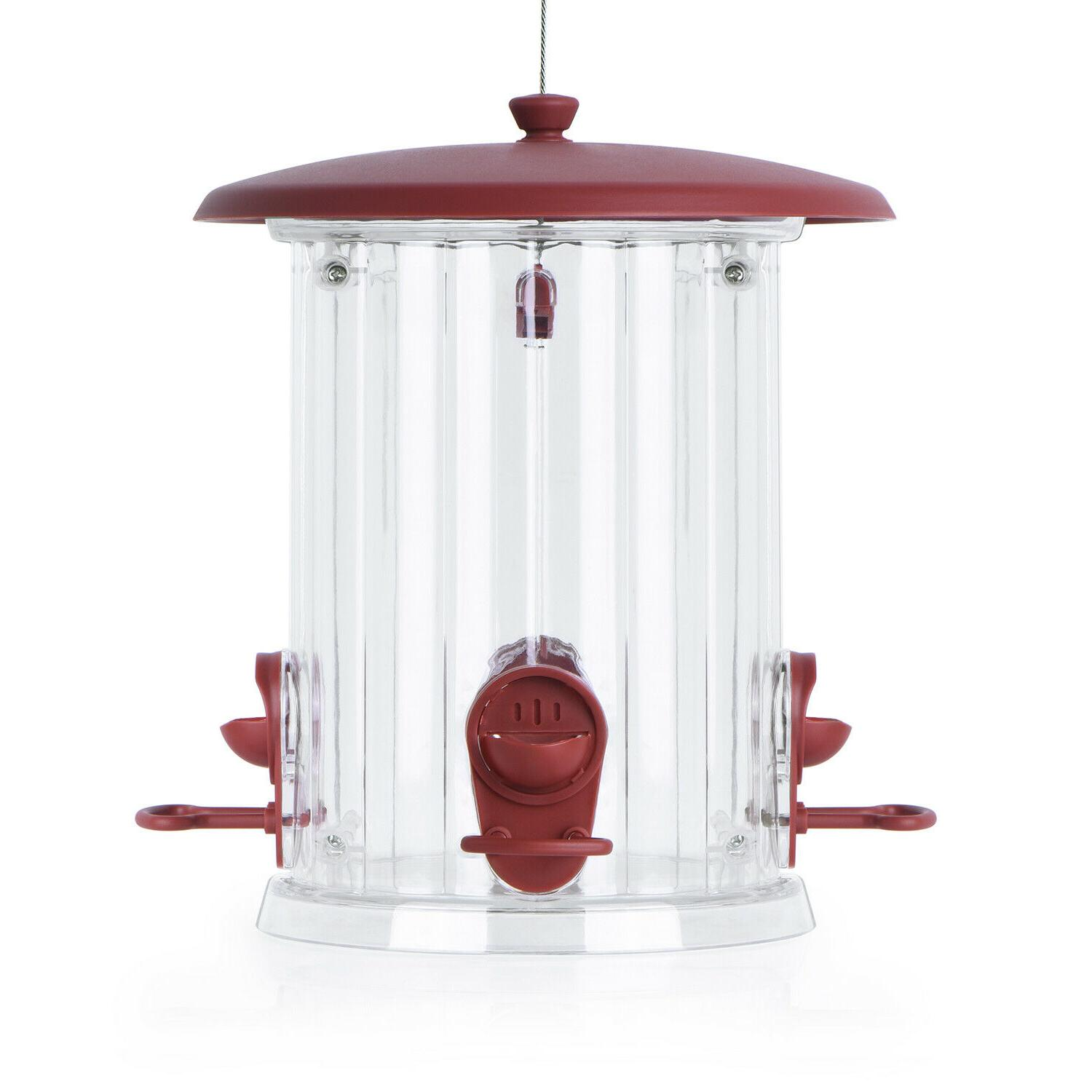 🐦BOLITE Feeder, Plastic Bird Feeders for Reddish