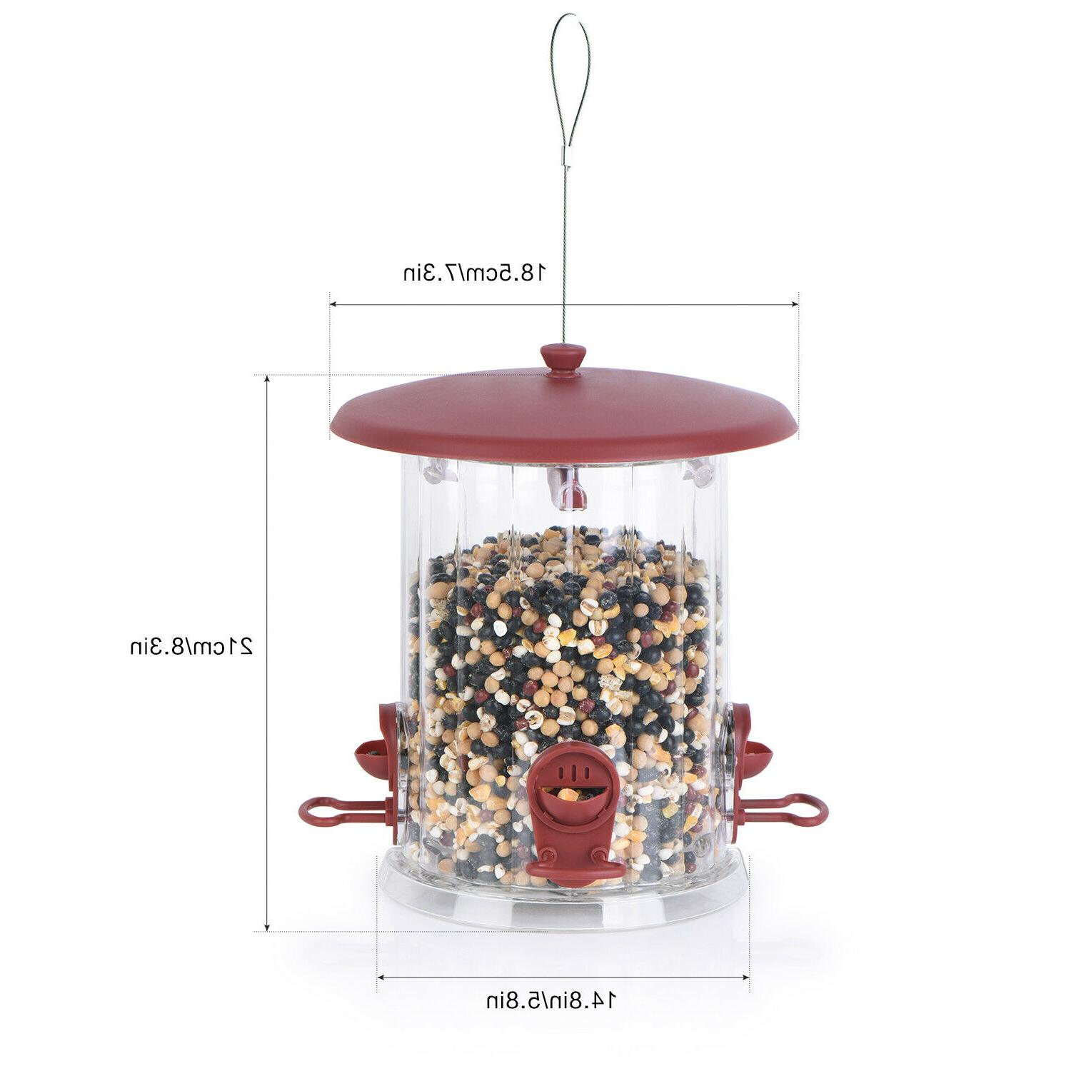 🐦BOLITE Bird Feeders Reddish