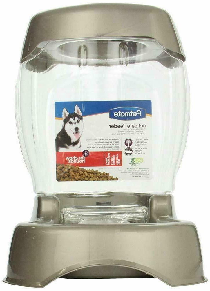 3 Cafe cat feeder features gravity technology