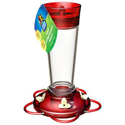 More Birds 35 Ruby Hummingbird Feeder with 5 Feeding Ports,