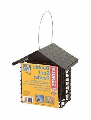 38070 suet buffet bird feeder metal steel