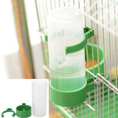 4Pcs Parrot Automatic Water Feeding Cage Parts